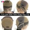 Fake Scalp Full Lace