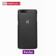 Ursprüngliche Echte Für OnePlus 5 Fall Abdeckung Karbon Carbon Faser Sandstein Abdeckung OnePlus5 One Plus 5 Schutzhülle