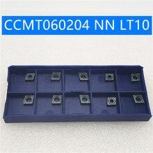 Tungsten Carbide CCMT060204 NN LT10 Insert Internal Turning Tool hard alloy ccmt 060204nn CVD+PVD Lathe Cutting