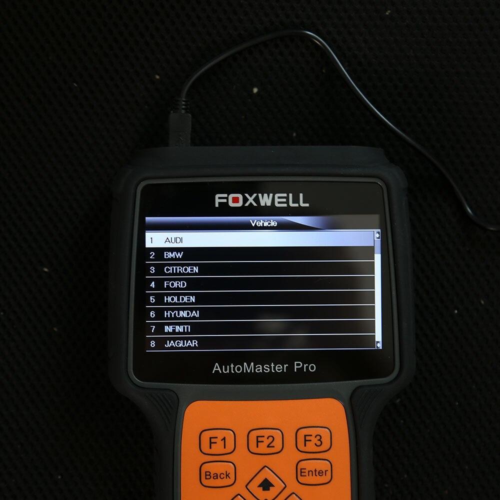 Foxwell NT644 Pro Unterstützung 60 + Full System-Diagnose-Scanner Spezielle Funktionen (EPB/ABS/SRS/DPF /SAS/TMPS/Injektor/SAS/Öl Reset)