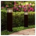 60 см открытый светодиодный светильник для газона современный сад двора вилла парковый пейзаж свет водонепроницаемый газон болларды освеще...