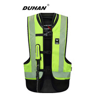 DUHAN Motorcycle Jacket Air bag Vest Motorcycle Jackets Vest Air Bag System Protective Gear Reflective Motorbike Moto Brand Vest