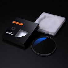 K & F CONCEPT ND2 400 ND 필터 37 82mm 조정 가능한 페이더 가변 카메라 렌즈 필터 Canon Nikon Sony 카메라, 멀티 코팅