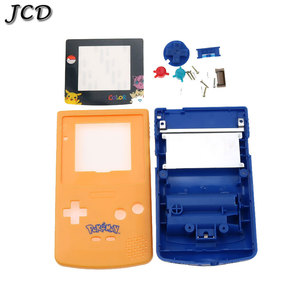 Image 2 - JCD dla GBC edycja limitowana Shell zamiennik dla Gameboy Color GBC konsola do gier pełna obudowa z zestaw przycisków