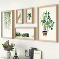5pcs/set Vintage Photo Frame For Home Decor Creative Combination Gift Family Picture Frames Painting Hanging Wall marcos de foto