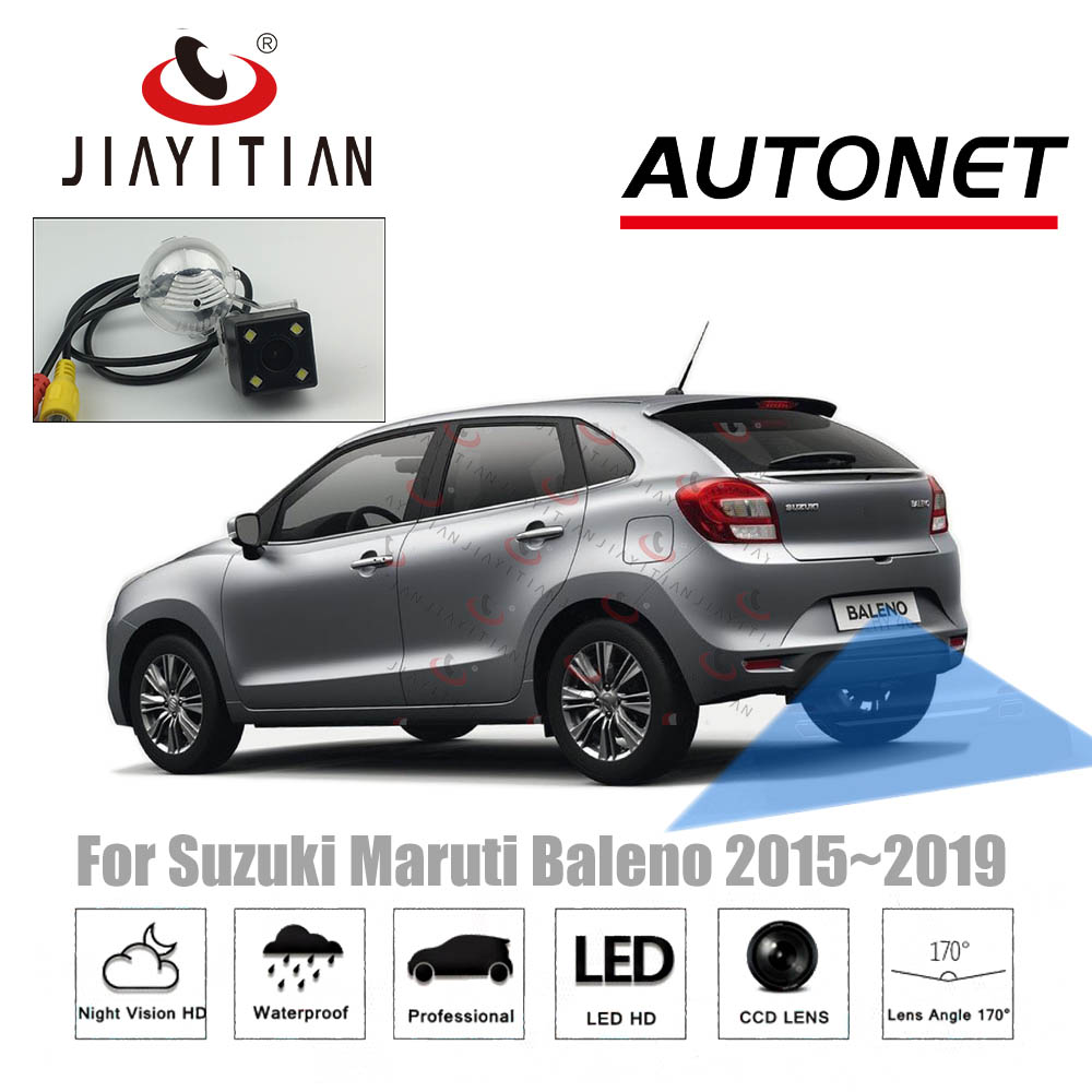 JIAYITIAN Rear View Camera For Suzuki Maruti Baleno 2015 2016 2017 2018 2019 Night Vision/Backup Reverse Camera/Parking Camera