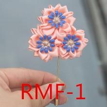 Свадебные аксессуары для невесты с цветами 3303 RMF