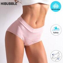 L 5XL Underwear Women Leak Proof Menstrual Panties Cotton Antibacterial Physiological Panties High waist Shape Briefs Lingerie