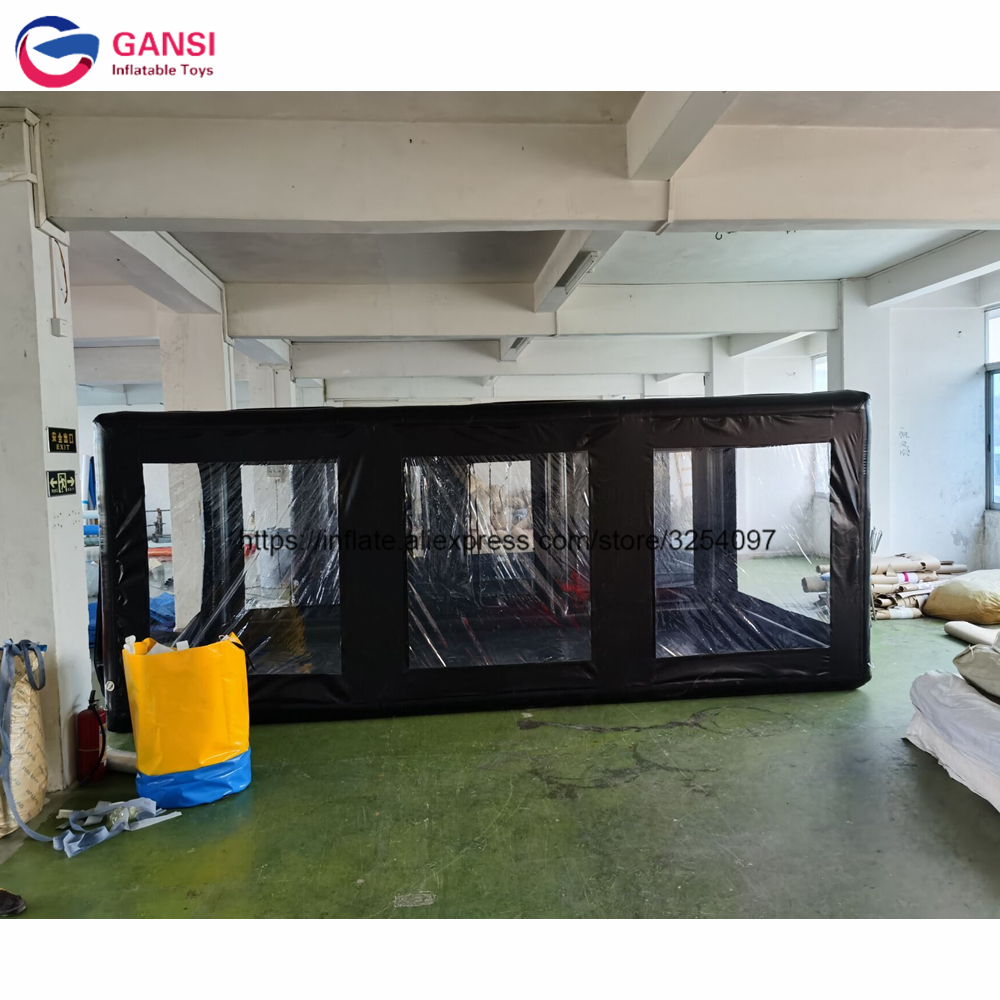 Best quality 5m <font><b>car</b></font> <font><b>garage</b></font> <font><b>tent</b></font> inflatable <font><b>car</b></font> cover <font><b>tent</b></font> from China image