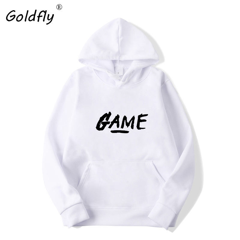Men's Fashion Pullover Letter PrintHoodies Sweatshirts Autumn Casual Men Long Sleeves Hoodies Clothing