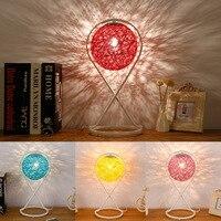 A lâmpada que protege um olho pequeno quarto do quarto a cabeça de uma cama luz noturna lâmpadas e lanternas que se movem a luz|Luminárias de mesa| |  -