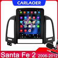 Autoradio lettore multimediale per Hyundai Santa Fe 2 2006-2012 DSP 4G Andorid 10 Auto GPS No 2 din 2din per Tesla style