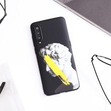 Roman stone statue Emboss Phone case For Xiaomi MI9 MI8 MIX3 MIX2 ,K20 Pro ,9T PRO ,MI6 A2 cover Reflections on the Renaissance