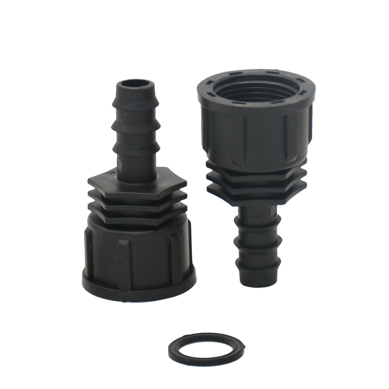 Water Pipe Connector Female 3/4 To 16mm Hose Barb Connectors Water Tap Irrigation Adapter 2pcs