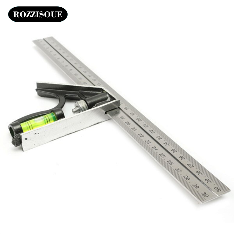Drawing Patterns Aluminum Ruler Metal Student Cutting Metal Stencil Rolling Knitting Ruler Drawing Tool School Office Supplies