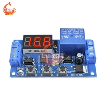 Display-Module Time-Delay-Relay Time-Circuit Trigger Cycle Adjustable Home-Automation