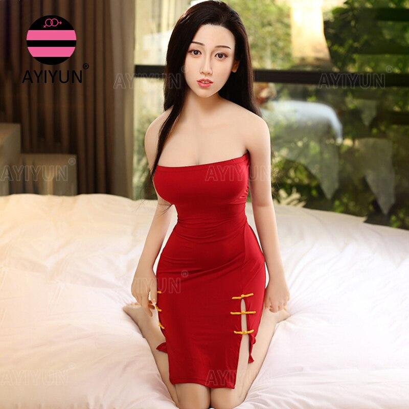 Hf2a85d5b60e9475e8e23a50adbf13c307 AYIUN del sexo de tamaño Real muñeco de Anime pecho grande japonés realista de silicona Vagina muñeca del sexo realista de cuerpo completo muñeca de amor