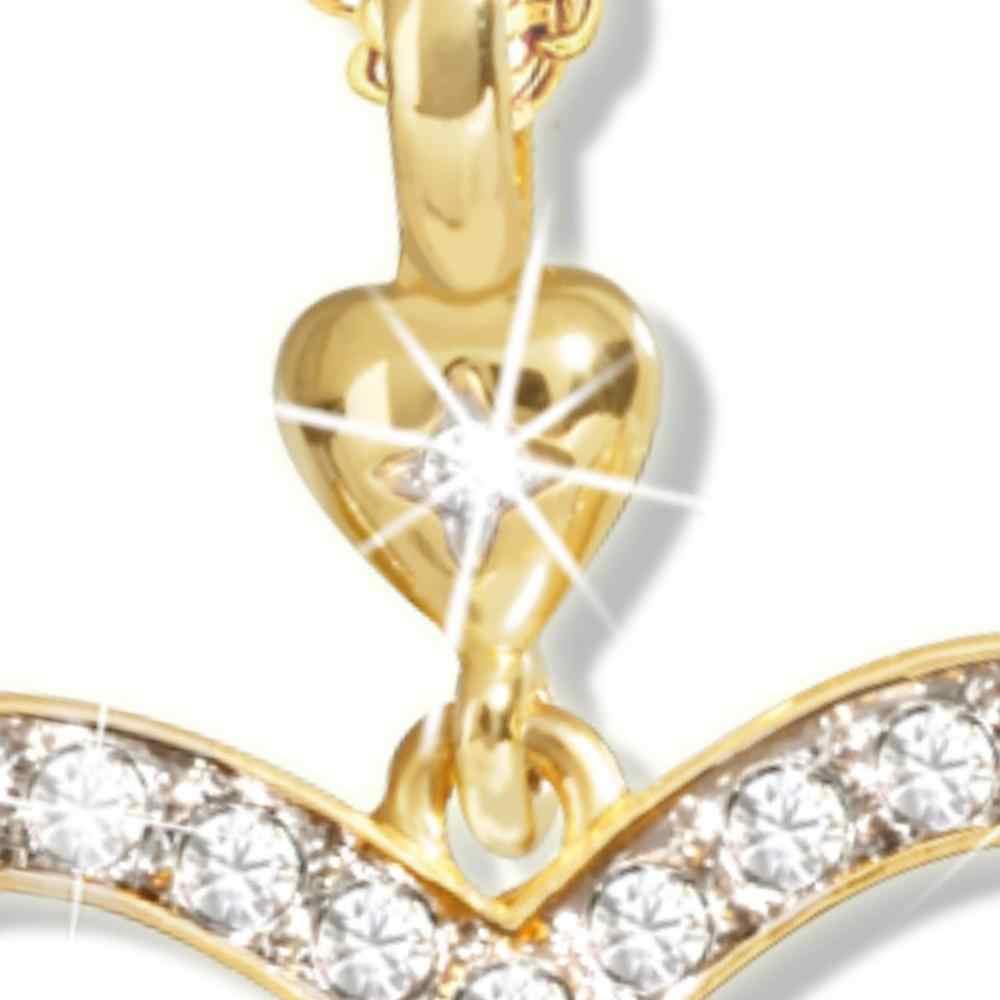 Elegante Kristall Robin Elster Vogel Anhänger Halskette Ohrringe geliebten Geschenk Jahrestag Schmuck Set für frauen