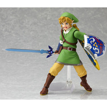 NEW 14cm Zelda Skyward Link mobile Collection Action Figure toy Christmas gift doll