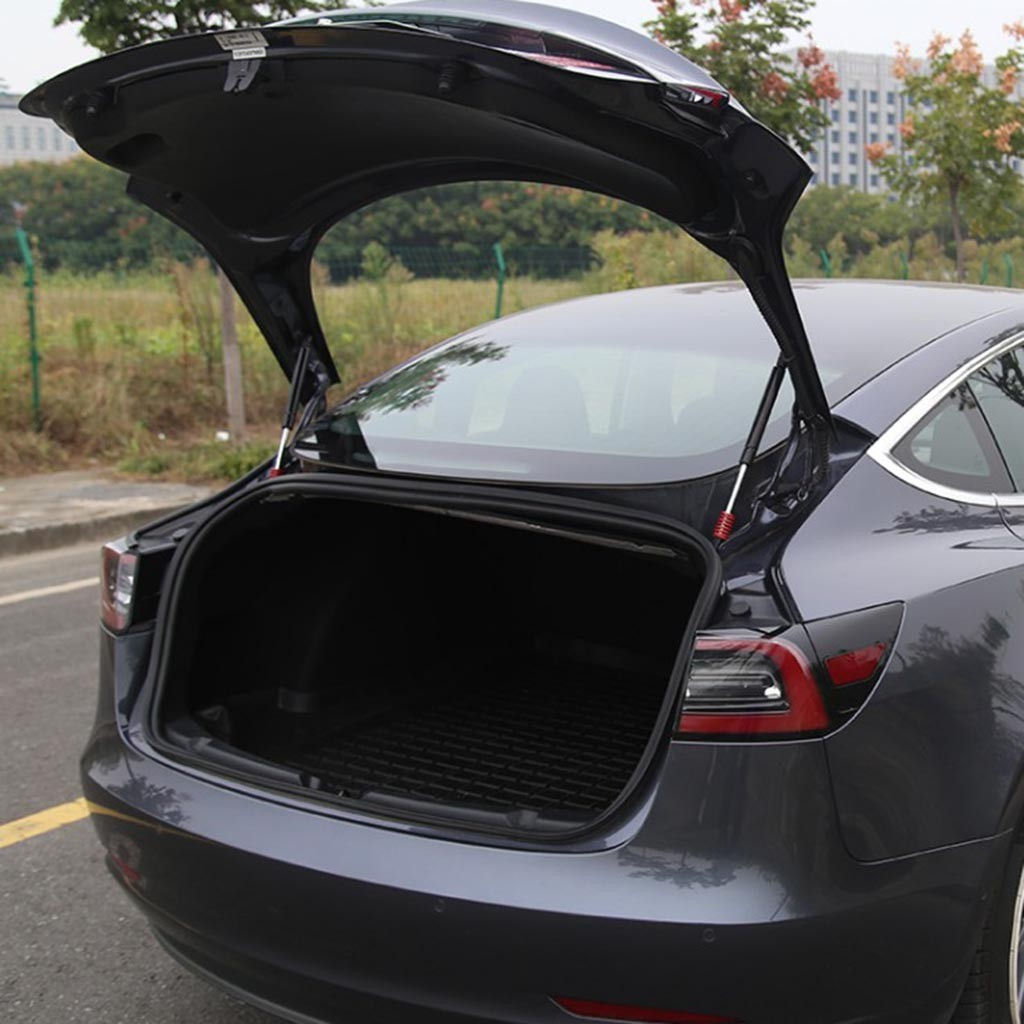 lowest price 2pcs Hood Bonnet Front   Automatic Rear Trunk Hold Up Support Lifts For Tesla Model 3 Air Spring For More Lifting Power P10
