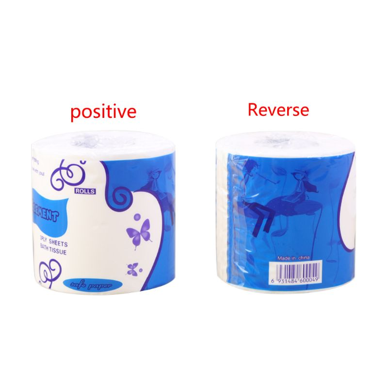 5*10x10cm Three Layer Toilet Tissue Home Bath Toilet Roll Paper Soft Toilet Paper