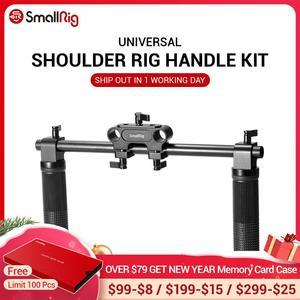 Image 1 - SmallRig מצלמה יד אחיזת ידיות עבור Dslr 15mm כתף Rig Dslr מערכת מצלמות מעקב פוקוס 0998