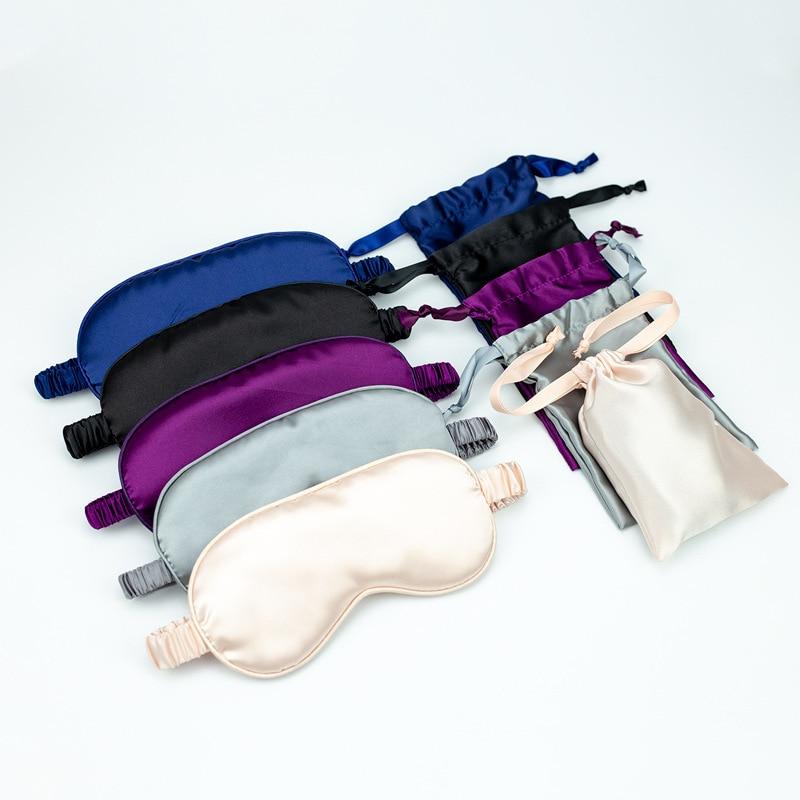 Mask Cover Eyepatches Blindfolds Eyeshade Health Sleep Shield Light Double-Sided