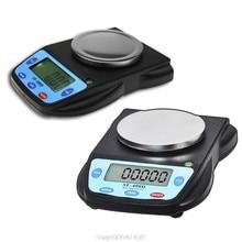 Balance analytique numérique électronique de laboratoire, SF-400D g/500g, noir, compacte et multifonctionnelle, précision N13 20, 0.01