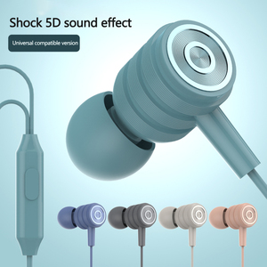 3.5mm Plug For Apple And Android Devices In-ear Earphones Mobile Noise Reduction Microphone Computer Mobile Phone Universal