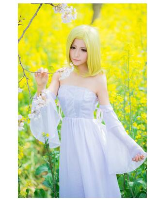 Anime The Seven Deadly Sins Elaine Cosplay Costume Custom Made