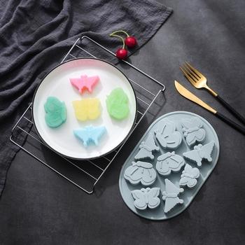 Gummy foremki foremki na słodycze foremki do czekoladek formy silikon bez BPA formy galaretki D 27RF tanie i dobre opinie CN (pochodzenie) Naleśnik ciasto dozowniki Ce ue 27RF8YY1201438-BL Z gumy silikonowej
