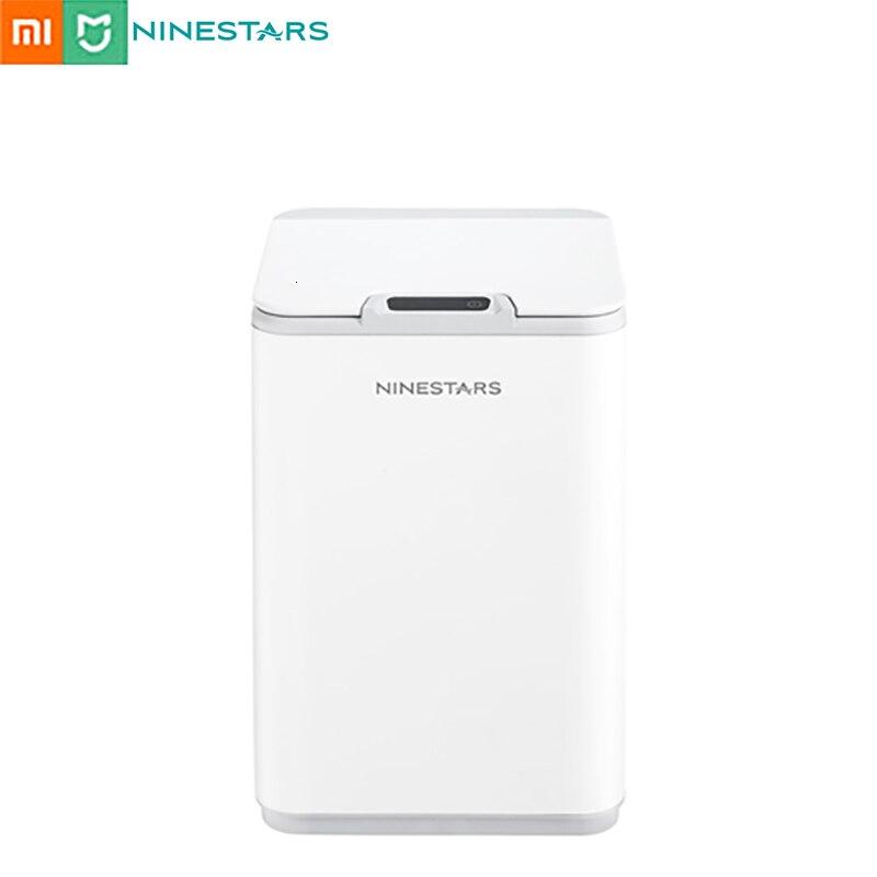 Xiaomi Ninestars 10L IPX3 Waterproof Dustbin Sensor Household Smart Dustbin Contactless Dustbin|Waste Bins| |  - title=