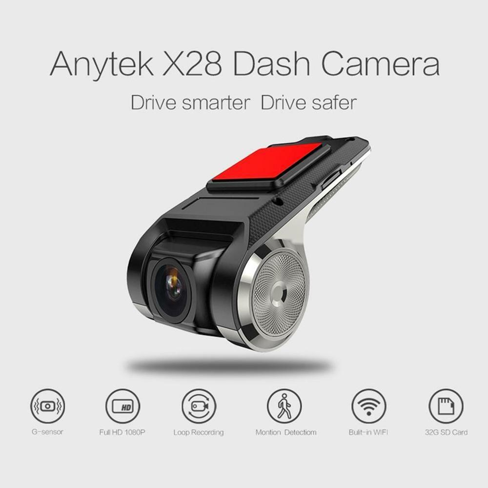X28 FHD 1080P 150Dash Cam Auto DVR Kamera Recorder WiFi ADAS G-sensor Video Auto-Recorder Dash kamera