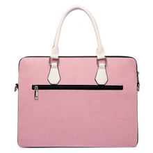 Men Briefcase Handbags Laptop-Bag Messenger-Bags Shoulder Black Casual Women Fashion