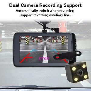 Image 5 - Deelife Dash kamera araba dvrı kamera Full HD 1080P sürücü Video kaydedici Registrator oto Dashboard 1296P çift çizgi kam siyah dvr kutusu