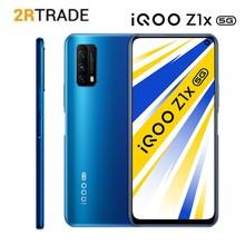 Vivo iQOO Z1x 5G Smartphone 6.57 cala 120Hz częstotliwość odświeżania Snapdragon 765G 33W ładowanie 5000 mAh 48 MP Android 10 telefon komórkowy
