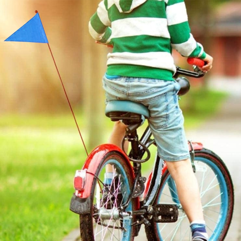 Children Bicycle Flag Safety bicycle pennant Flag For Boys And Girls Cycling,safety flag makes you safer when driving,adult kids