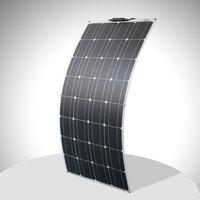 12v 100w solar panel flexible high quality monocrystalline solar panel cell 100 watt for motorhome