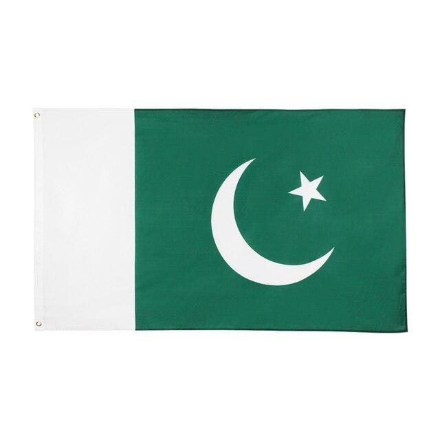 johnin 90x150cm 3x5 Ft PAK PK Pakistani Islamic Republic Pakistan Flag