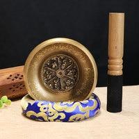 Belief Singing Bowl Set Mindfulness Mantra Yoga With Mallet Gift Ornament Home Tibetan Chakra Healing Meditation