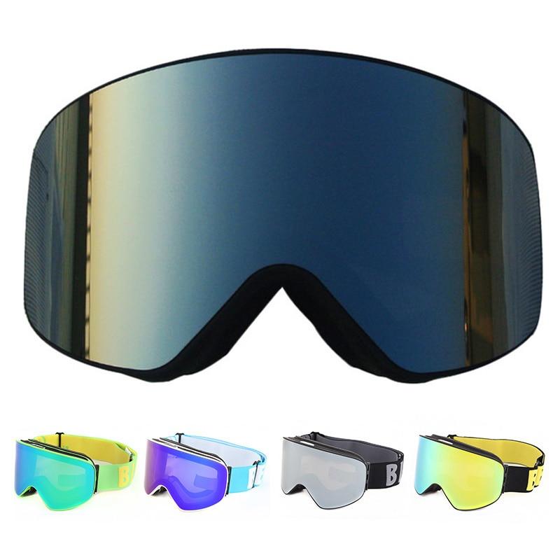 Ski Goggles Men Women Snowboard Goggles Glasses for Skiing UV400 Protection Snow Skiing Glasses Anti-fog Ski Mask Skiing Eyewear