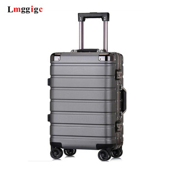 PC High quality hard-shell Luggage,20 inch Boarding Box,24 inch Large capacity suitcase,Business rolling trolley case,valise