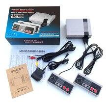 Retro gra wideo konsola dla 8 Bit 620 w 1 zbudowany w 620 gry z 2 kontrolery gry TV out