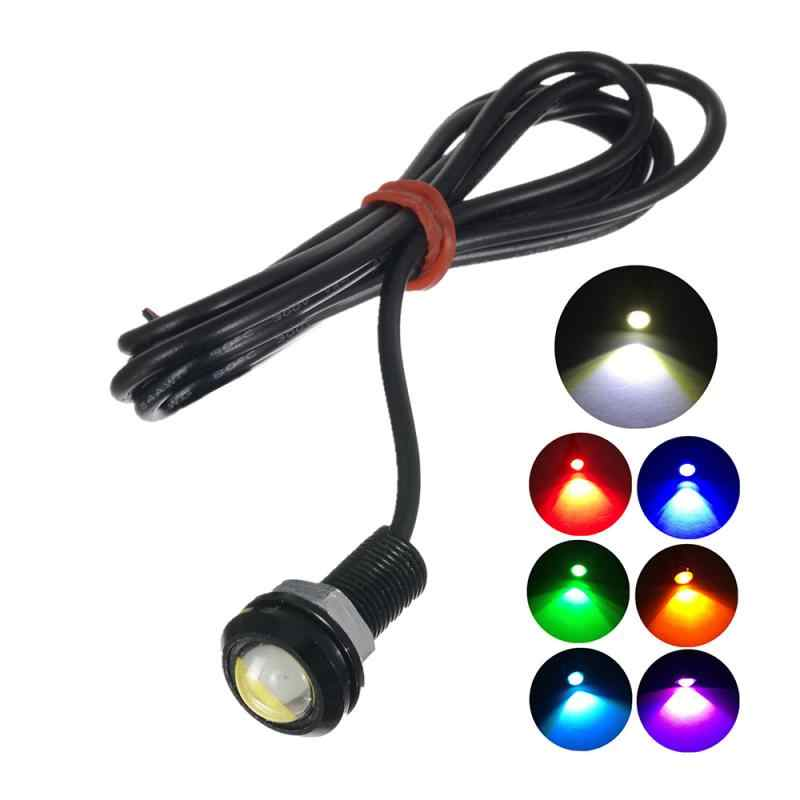 1Pc Lampu Sinyal 18Mm Mobil Eagle Eye Tahan Air Lampu Mobil Led 12V Spare Parkir Mundur Kamera Sinyal lampu Mobil Aksesoris Mobil