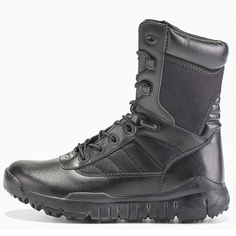 CQB. Swat Ultra-Light Combat Boots Army Fans Flying Tiger Boots Hight-top Autumn And Winter Breathable Tactical Boots Men's Comb