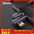 Baseus Kartenleser USB 3.0 Typ C zu SD Micro SD TF Adapter für Laptop Zubehör OTG Kartenleser Smart Memory SD kartenleser