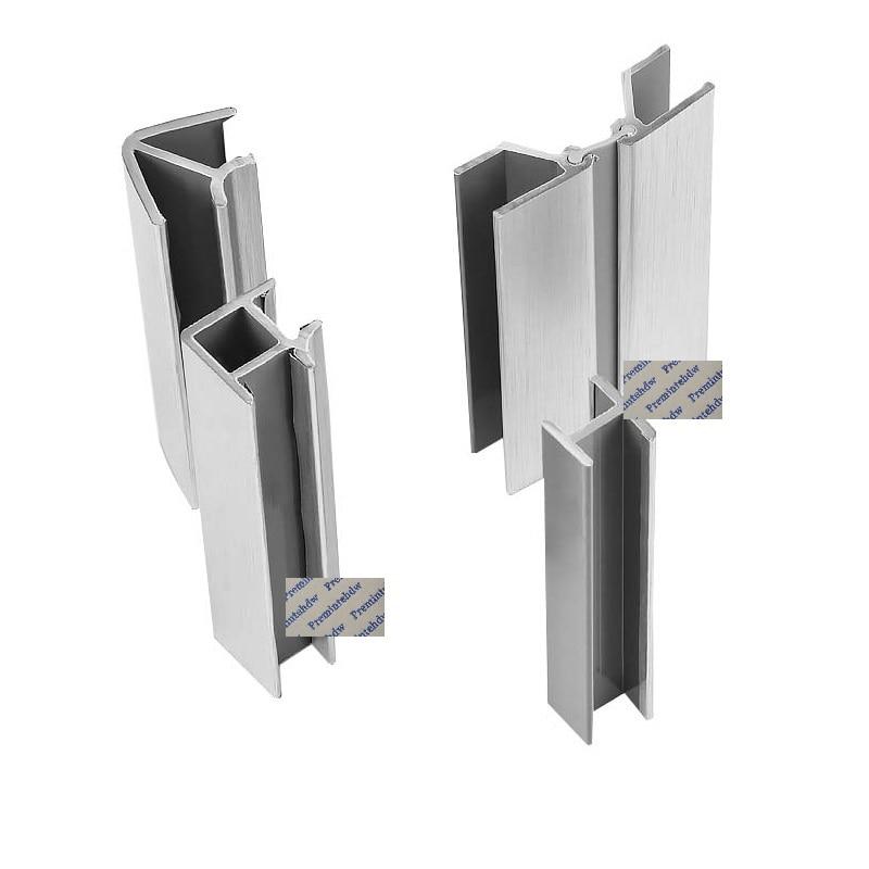 20Pcs Kitchen Plinth 90 Degrees Corner Connector Toe Kick Board Connecting Brushed Aluminum Foil PVC Kicker Board