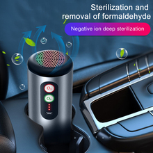 Car Air Vehicle USB Purifier with HEPA Filter Air freshener Car Air Purifier Infrared Sensor Air Cleaner Smoking In Car 2018 ky hpa 19 hepa air purifier double fan double filter high sensitivity air quality sensor aromatherapy tank at the bottom