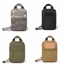 Mobile Phone Waist Pack Camo Pouch Bag Waterproof Military Belt Packet Molle Nylon Male Wallet Sports Bags(China)
