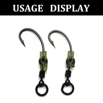 Super Best 20PCS Carp fishing swivels fishing hook Fishhooks cb5feb1b7314637725a2e7: 20pcs